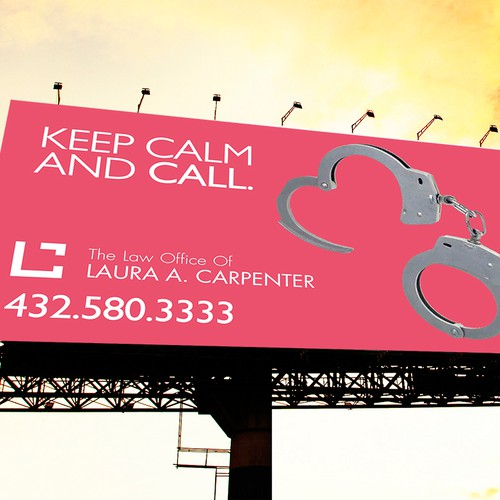 Bilboards for law office