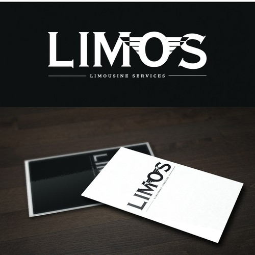YOUR LUXURIOUS LOGO WITH A LUXURIOUS LIMOUSINE SERVICES