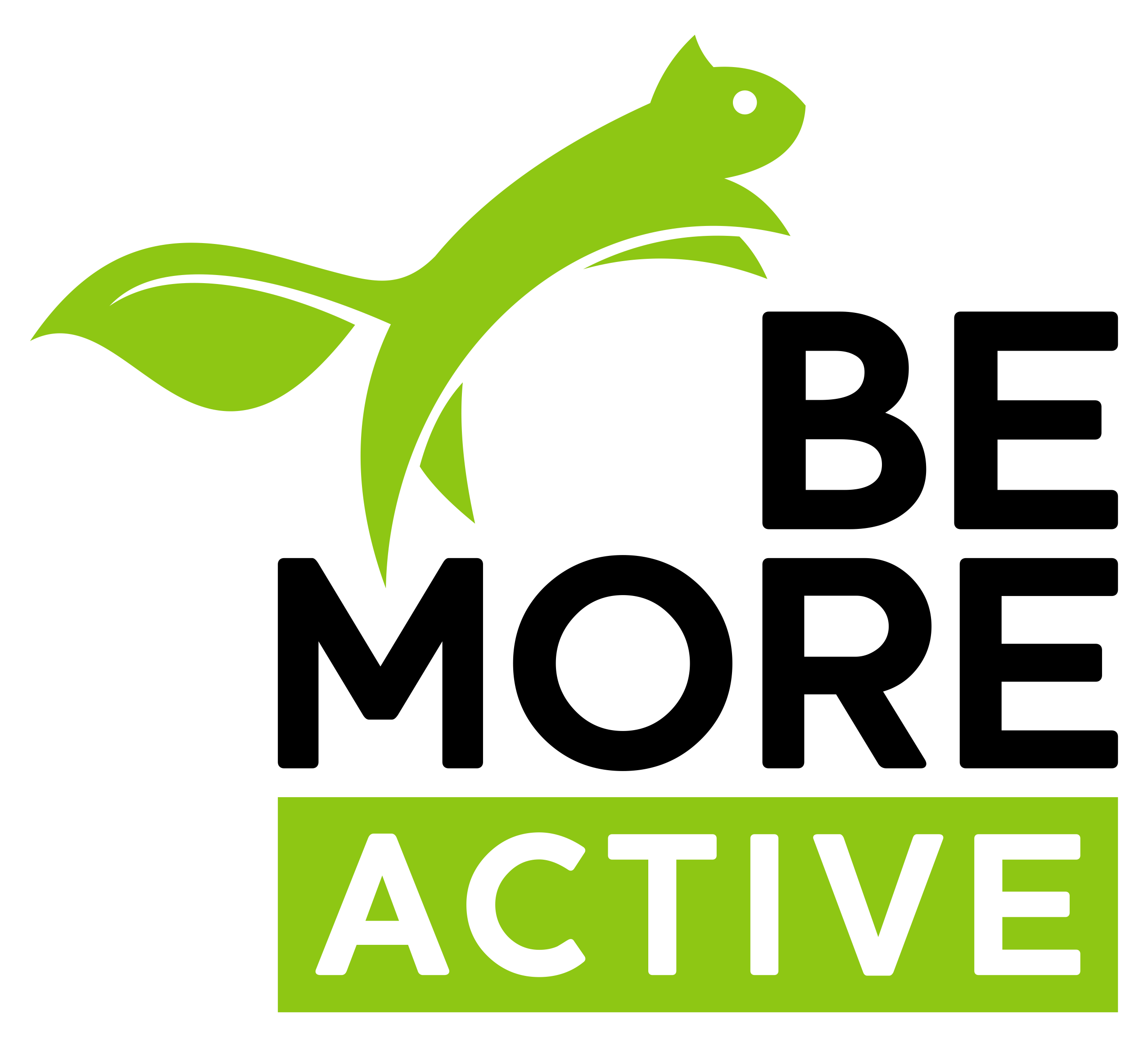 Create a logo for an exciting new approach to fitness for Be More Active