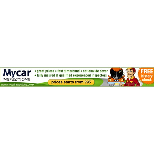 Create the next banner ad for My Car