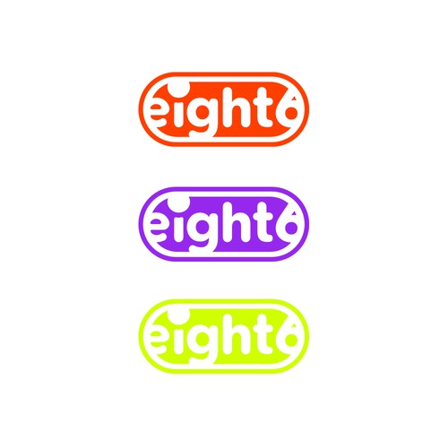 eight6 logo design