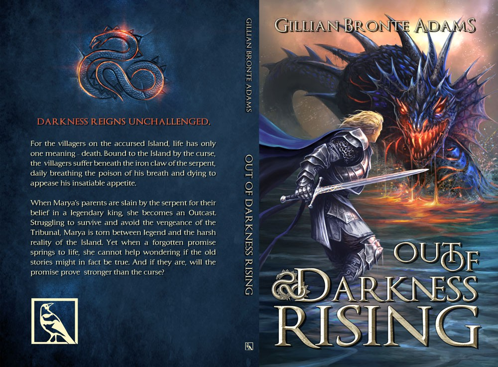 """Create a Bold, Imaginative, Eye-Catching cover for new, YA epic fantasy """"Out of Darkness Rising"""""""