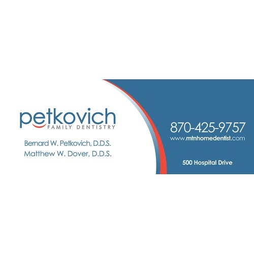 Create a SIGN that gets NOTICED for Petkovich Family Dentistry