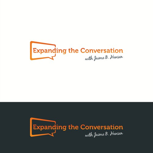 Logo concept for Expanding Conversation