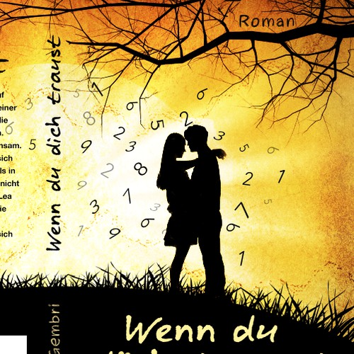 Eye-catching cover image for a Young Adult Romance Book (E-Book and Print)