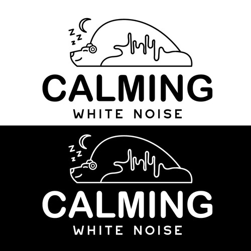 Calming White Noise logo