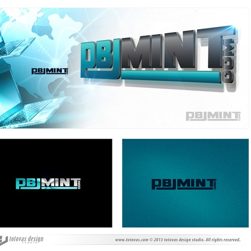 New logo and business card wanted for pbjmint