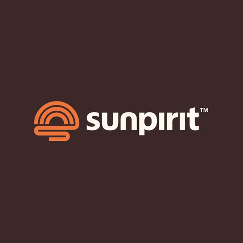 Enduring logo for a Sun inspired outdoor brand