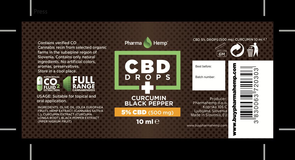 Pharma Hemp label edits