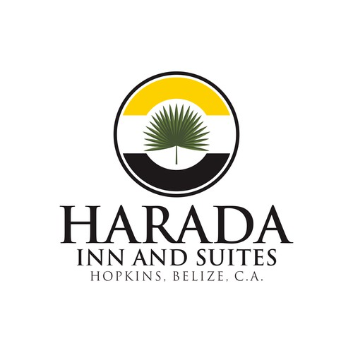 Logo For HARADA INN and SUITE