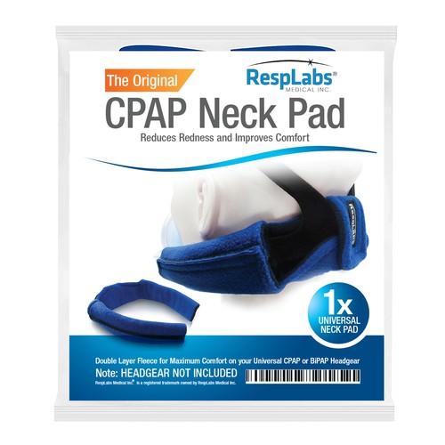CPAPNeck Pad Label