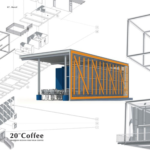 20ft Coffee (Coffee Container)