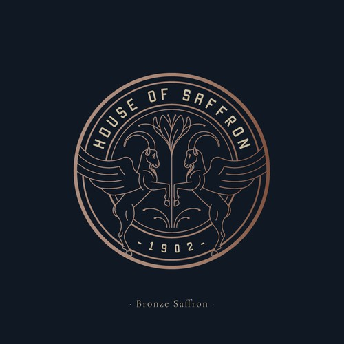 Logo design for House Of Saffron
