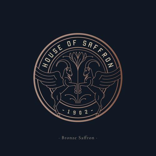 Logo design for House Of Saffron