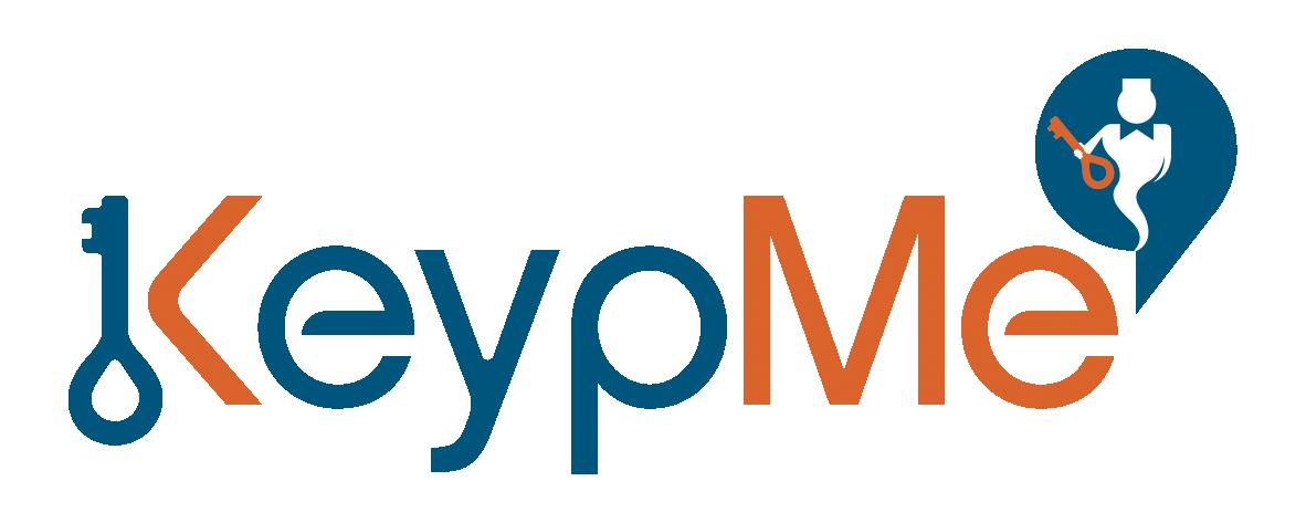 Logo et Identité visuelle KeypMe, le gardien des clés