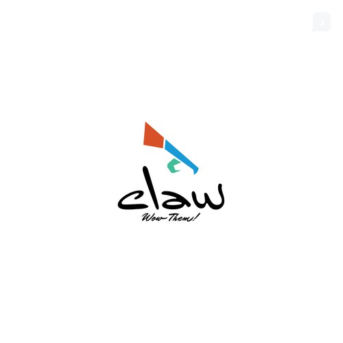 Bold Logo Concept for Claw