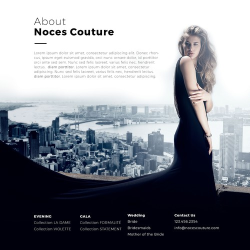 Noces couture