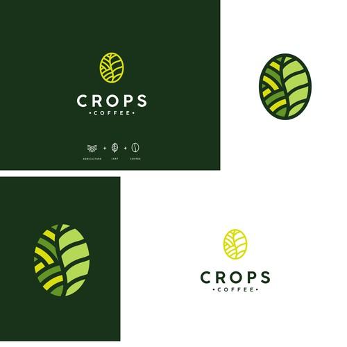 CROPS coffee logo