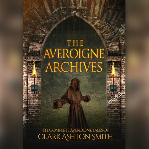 "Book Cover "" The Averoigne Archives"""