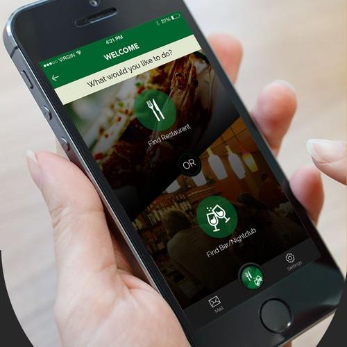 VIZE Restaurant app