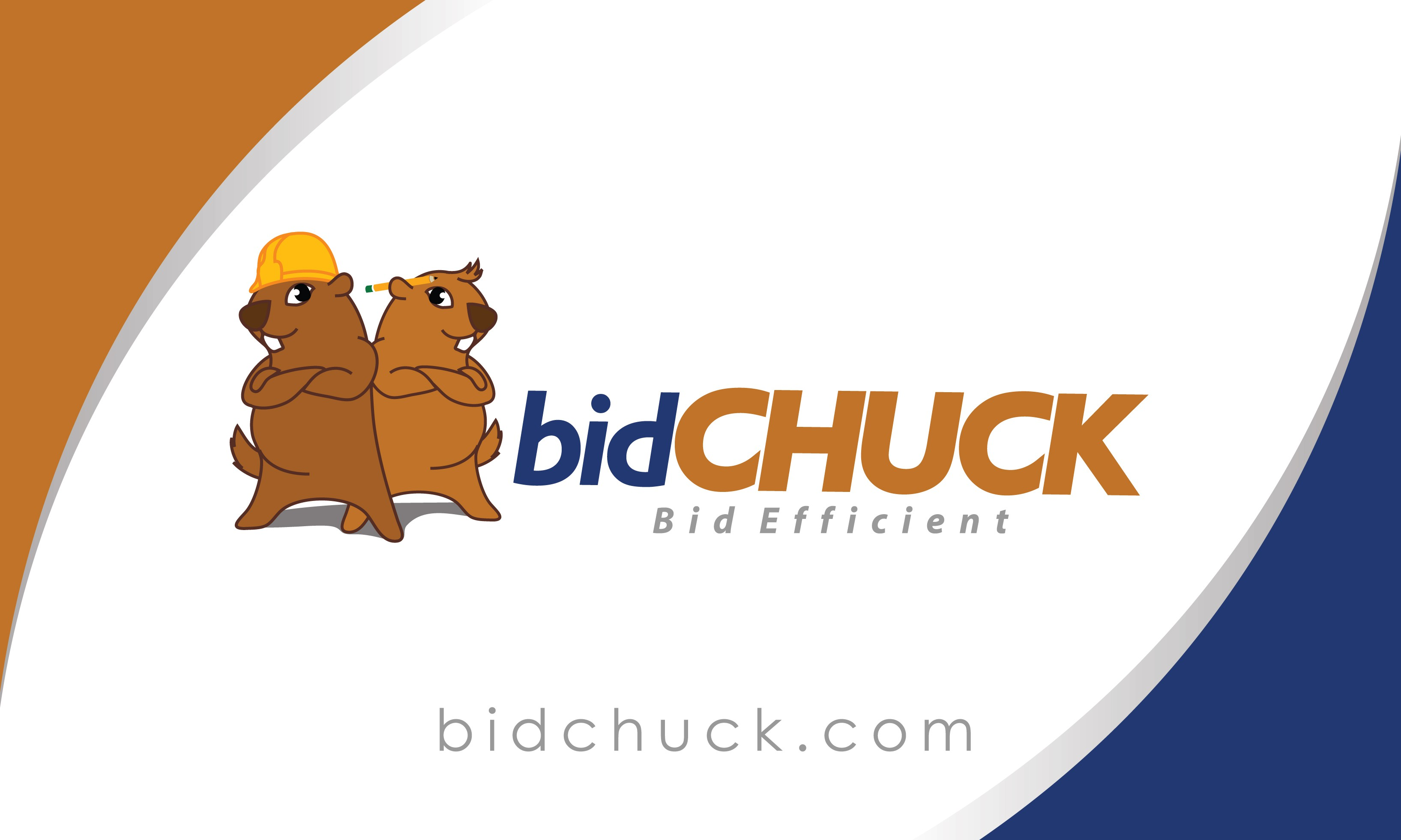 bidCHUCK business cards