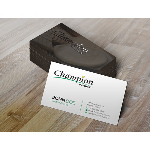 Design A New Business Card, Win The Prize!!