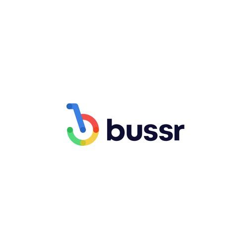bussr logo concept