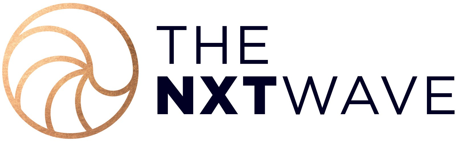 Design a creative modern logo for a social media consulting agency called The Nxt Wave
