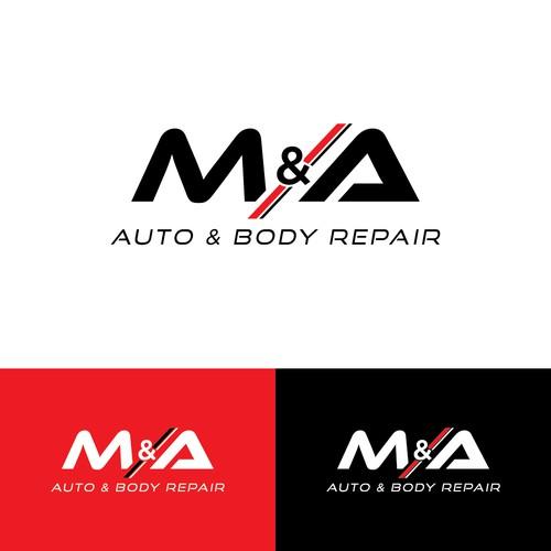 Logo for auto repair