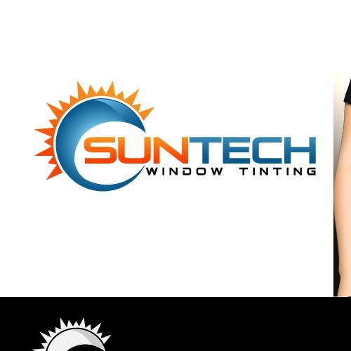 COOL Window Tint Logo Design!