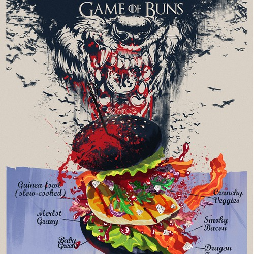 Crazy Wolf Game of Buns