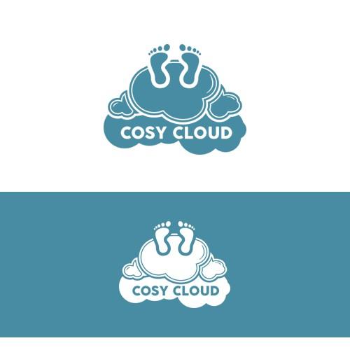 Cosy Cloud - winning design at 99designs.com