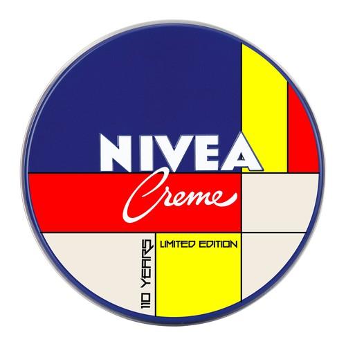 110 Years Anniversary Nivea Tin Design