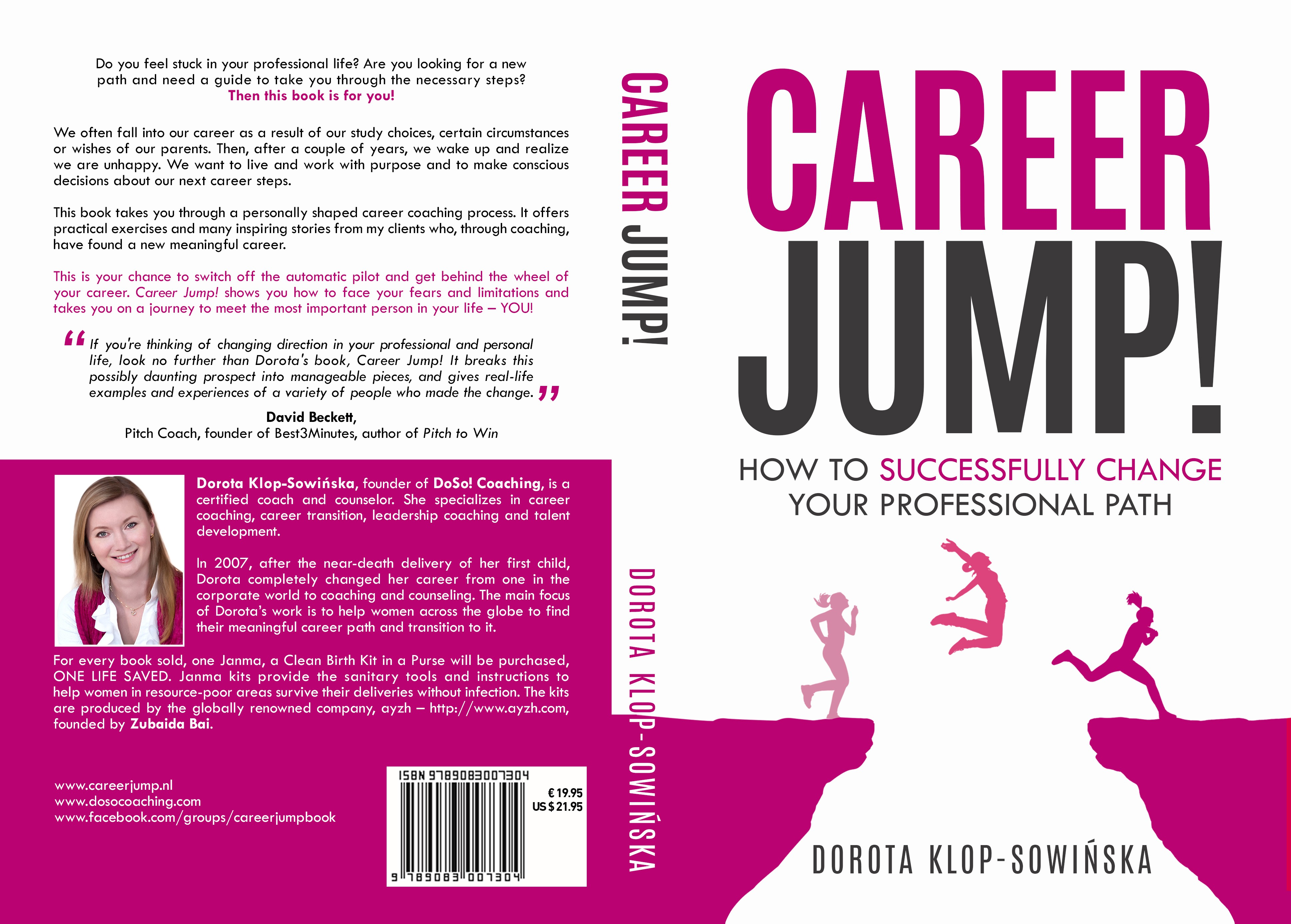 Design a powerful book cover for a self-help career change book!!!