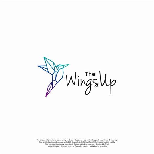 The WingsUp Logo