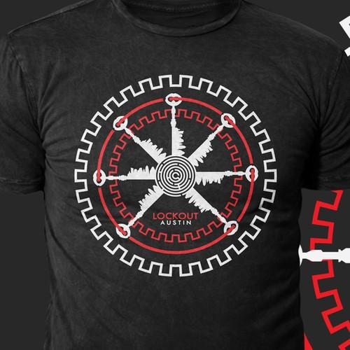 T shirt design for escape room