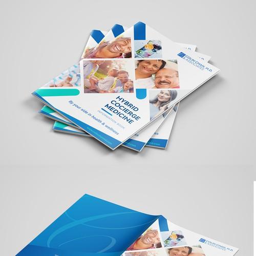 Elegant and modern medical brochure