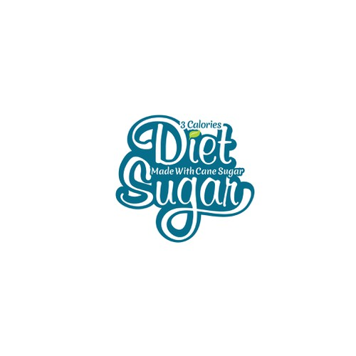 Create a logo for Diet Sugar