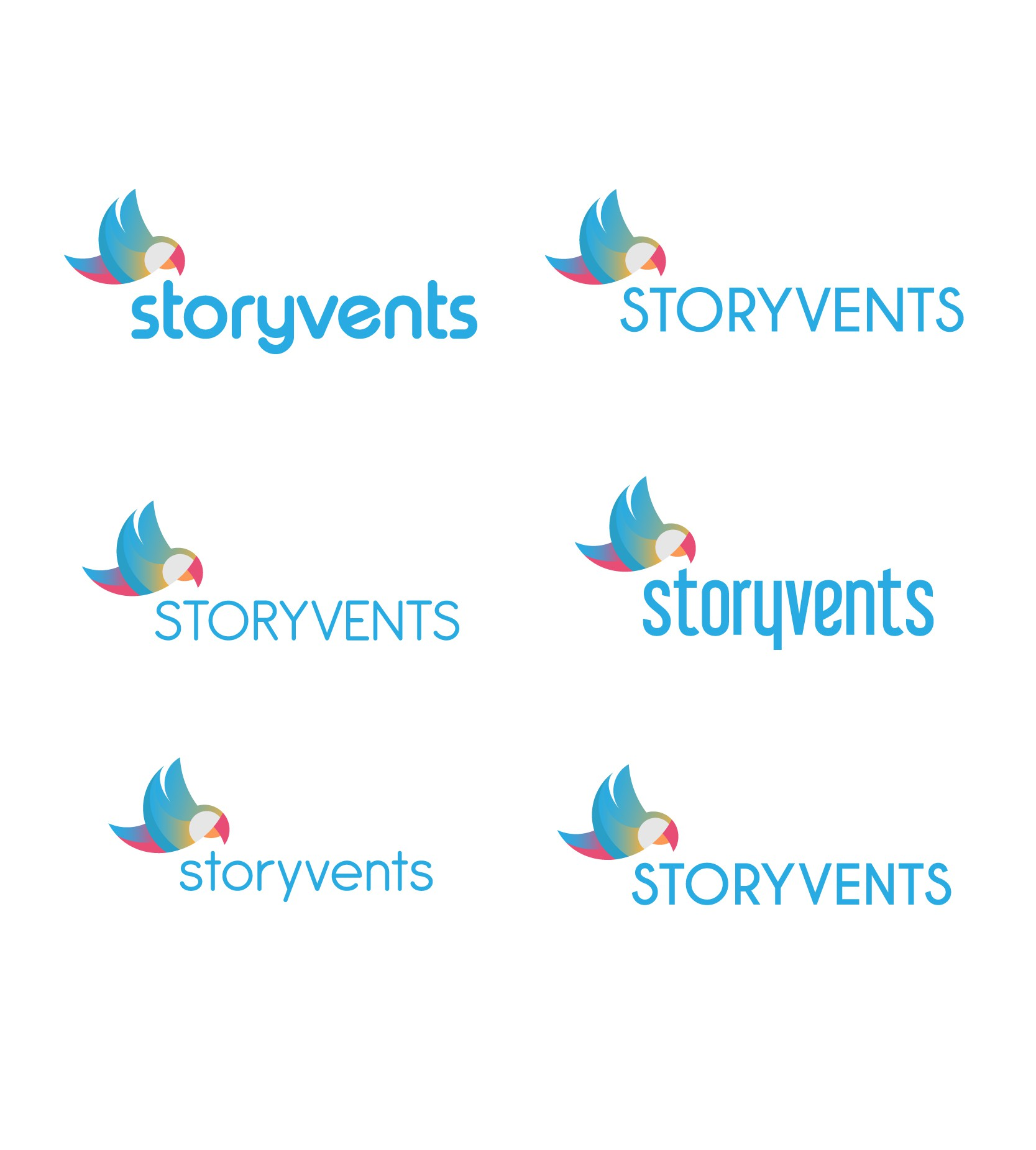 Create an epic logo for a company that is at the intersection of publishing and events!