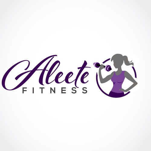 Fitness Woman Logo