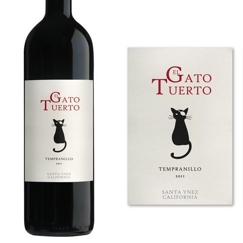 Wine Label - El Gato Tuerto