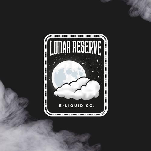 Logo (label) for Lunar Reserve e-liquid brand
