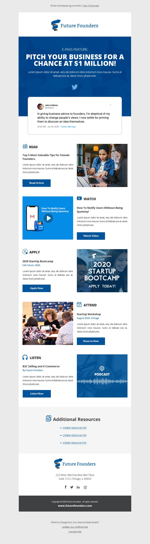 Entrepreneurship Weekly Content Newsletter