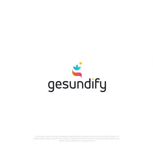 Gesundify minimal logo