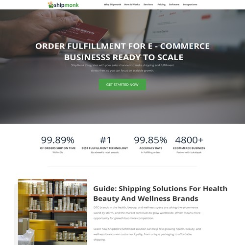 ShipMerch - A fulfillment company that offers shipping services for e-commerce brands