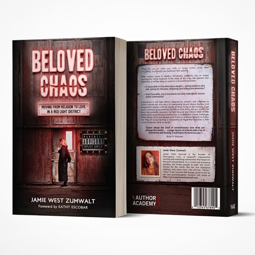 Book Cover Concept for Beloved Chaos