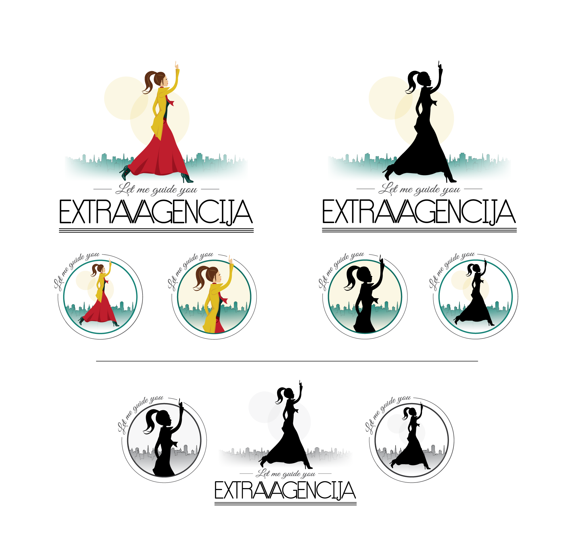 Desing a great, catchy logo and help a self starting girl/tourist guide to get noticed :)