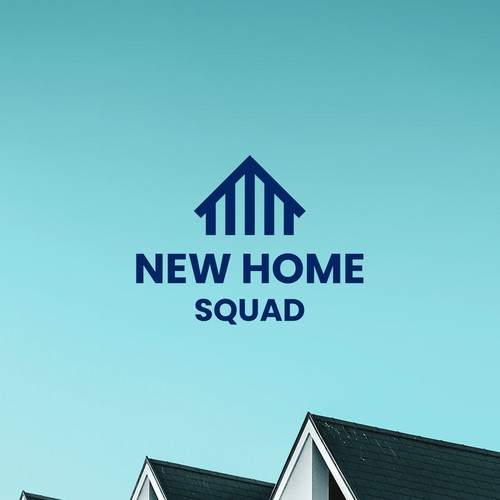 Simple, clear logo for new build house sales