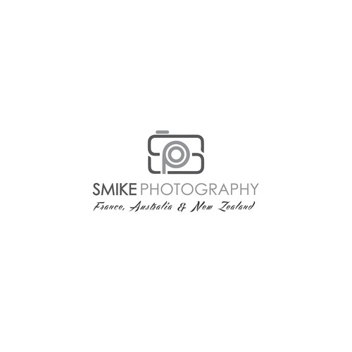 "Logo concept of ""Smike Photography"""