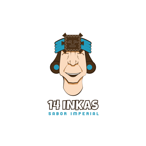 Inca Logo for a themed restaurant